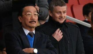 Vincent Tan Ole Gunnar Solskjaer Cardiff City