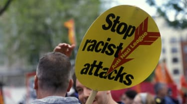 Anti-Nazi League, Far right