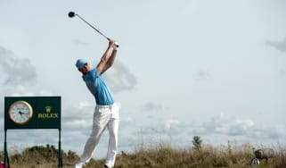 Martin Kaymer at The Open, one of the oldest contests in sport