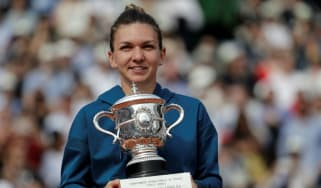 French Open final Simona Halep Sloane Stephens tennis