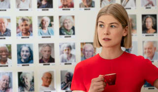Rosamund Pike stars in I Care a Lot on Amazon Prime Video