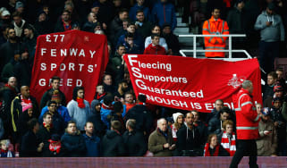 Liverpool ticket protest
