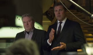 Sigurdur Ingi Johannsson and finance minister Biarni Benediktsson