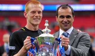 Ben Watson, Roberto Martinez, Wigan FA Cup