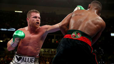 Canelo Alvarez unified the middleweight division by beating Daniel Jacobs in May 2019