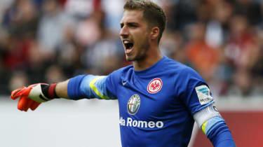 Kevin Trapp of Eintracht Frankfurt