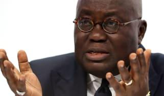 Ghanaian President Nana Addo Dankwa Akufo-Addo