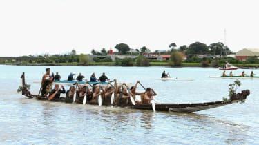 Prince Harry on Whanganui River
