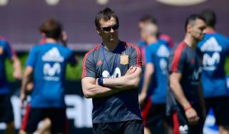 Julen Lopetegui Real Madrid Spain World Cup