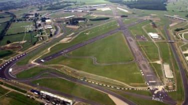 Silverstone GP track