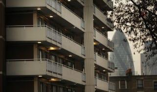 City of London seen from Whitechapel