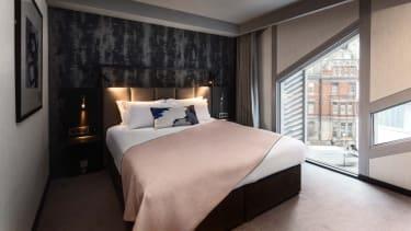 Bedroom at Montcalm East hotel