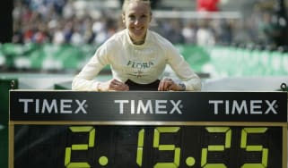 Paula Radcliffe 2003 marathon world record