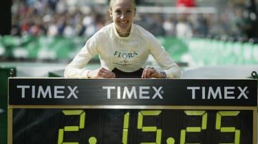 Paula Radcliffe 2003 marathon world record