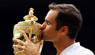 Swiss tennis star Roger Federer has won eight Wimbledon titles