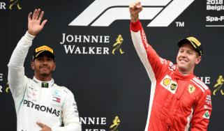 F1 Lewis Hamilton Mercedes Sebastian Vettel Vettel