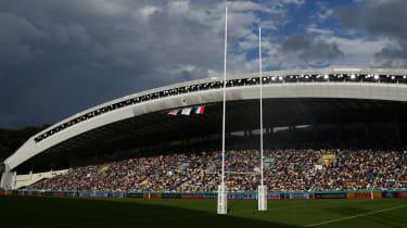 The Fukuoka Hakatanomori Stadium will host the Ireland vs. Samoa Rugby World Cup pool A match on Saturday 12 October