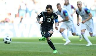 Lionel Messi Argentina vs. Croatia World Cup group D