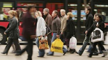 Oxford Street London shopping