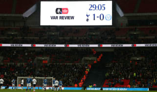 VAR English football Tottenham Wembley