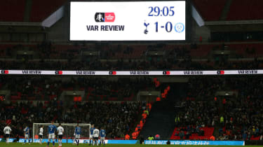 VAR English football Tottenham Wembley