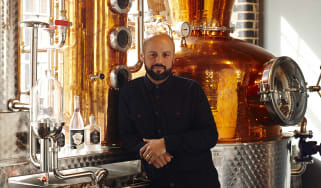 Alex Wolpert, founder of whisky and gin distillers East London Liquor Company, Bow, London