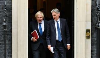 Philip Hammond, Boris Johnson, Jeremy Hunt