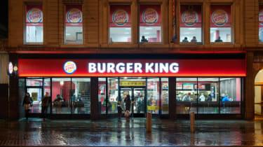 Burger King outlet