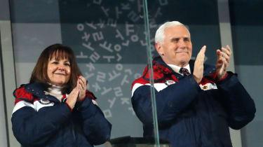 Mike Pence PyeongChang 2018 Winter Olympic Games