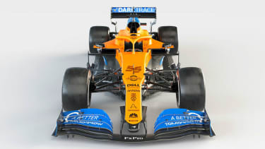 Carlos Sainz and Lando Norris will drive the McLaren MCL35 in the 2020 F1 season