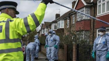 Hither Green burglary stabbing