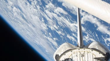 The view of Earth in handout image provided by NASA