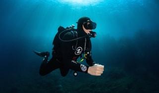 Greg Lecoeur diving