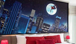 Disney's Hotel New York – The Art of Marvel Spider-Man suite