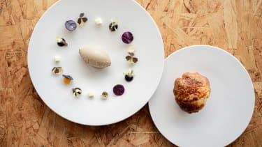 Turul Project London: Goose liver pâté with a brioche roll