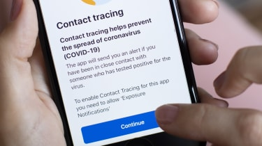 The NHS track-and-trace app