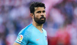 Spanish striker Diego Costa left Chelsea for Atletico Madrid in January 2018