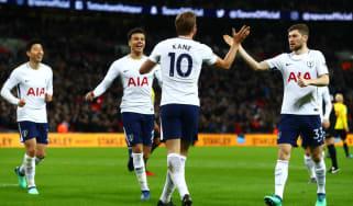 Harry Kane Tottenham 2 Watford 0 Premier League