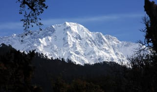 Nanda Devi, in the Himalayas, seen from 360 Leti