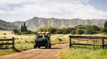 Four-wheel-drive ATVs provide an alternative way of touring Kauai