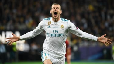 Real Madrid's Gareth Bale scored a stunning goal in the 2018 Champions League final victory against Liverpool