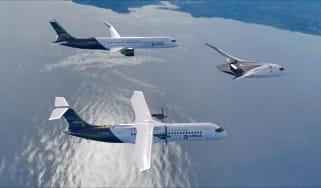Airbus ZEROe concept aircraft