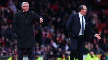 Rafa Benitez Alex Ferguson