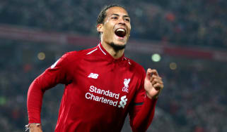 Dutch defender Virgil van Dijk has been in superb form for Liverpool this season