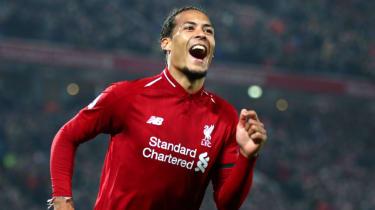 Dutch defender Virgil van Dijk has been in superb form for Liverpool this season