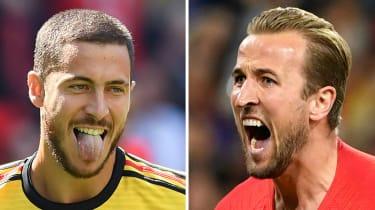Belgium vs. England World Cup play off Eden Hazard Harry Kane