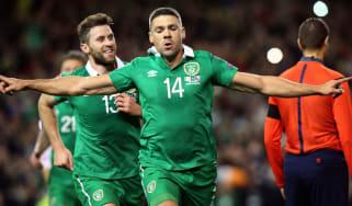Ireland striker Jonathan Walters