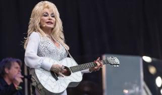 Dolly Parton at Glastonbury