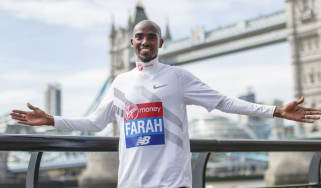 Mo Farah 2018 London Marathon