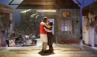 Rhys Ifans and Rakie Ayola in On Bear RIdge